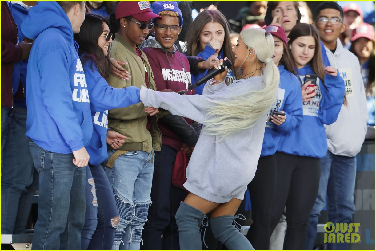 ariana grande march for our lives 03