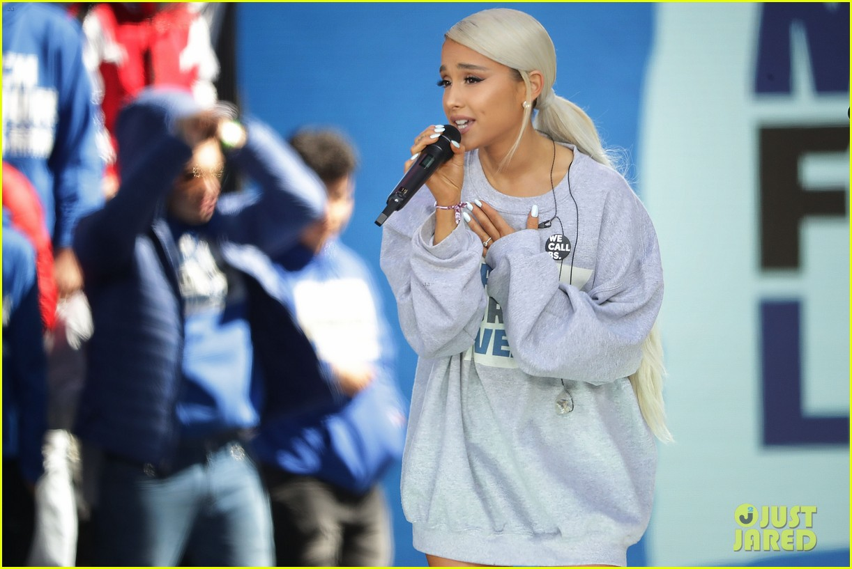 ariana grande march for our lives 04