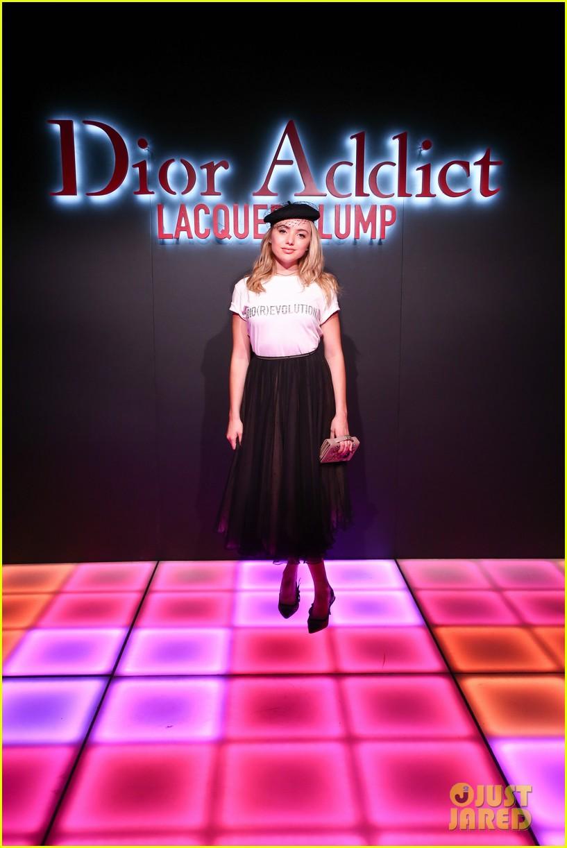 bella hadid natalia dyer charlie heaton celebrate dior addict lacquer plump launch 15