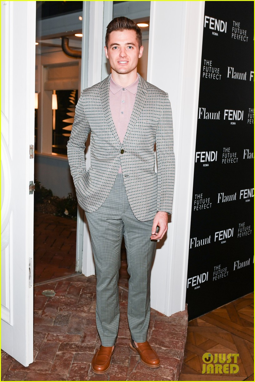 charlie heaton fendi event 16