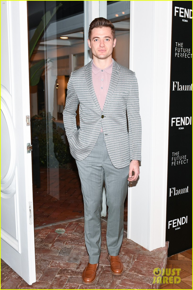 charlie heaton fendi event 17