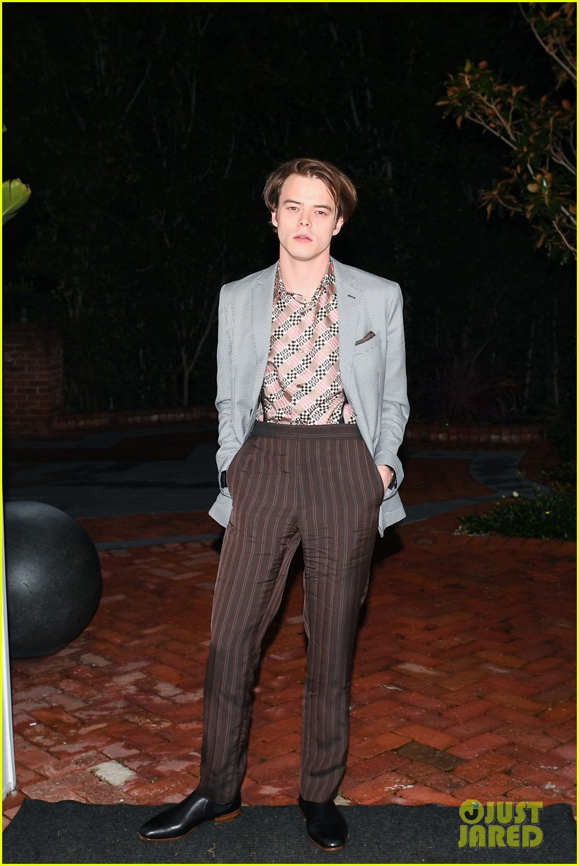 charlie heaton fendi event 21