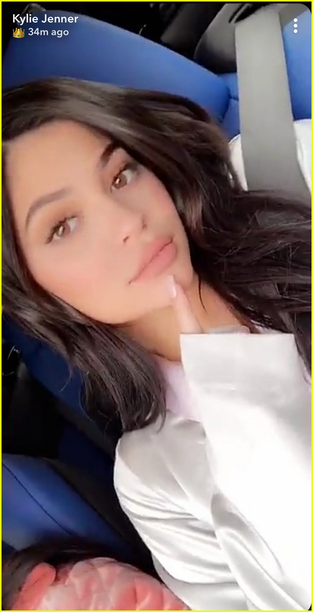 stormi webster is so cute in kylie jenner s new snap
