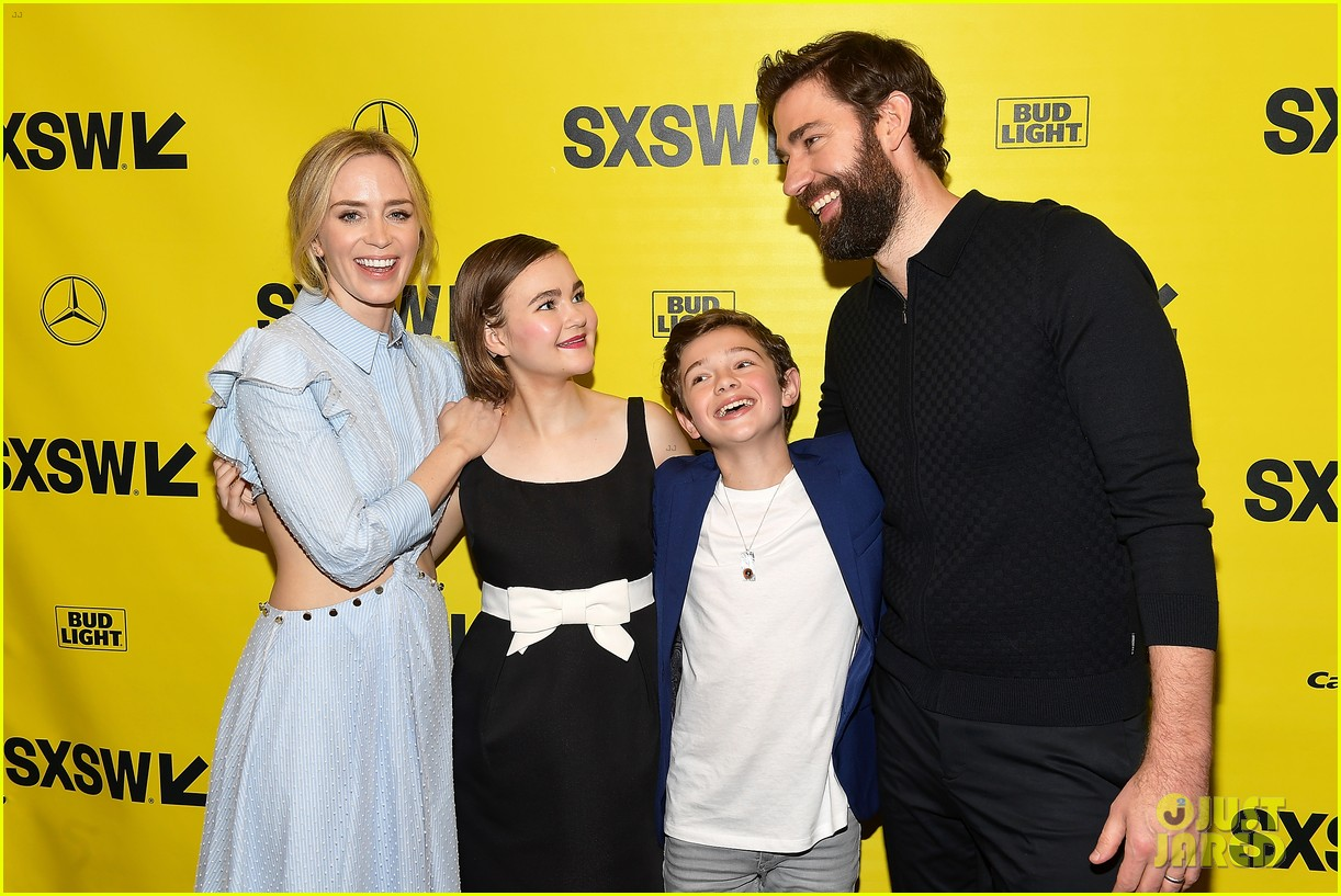 noah jupe and millicent simmonds team up for a quiet place premiere2 12