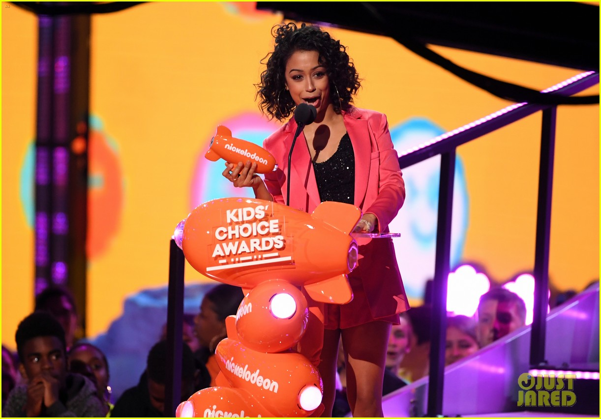 MAIN Pop Culture 2019 Kids Choice Awards Whos gonna get SLIMED this year As usual just about everybody! at the 32nd annual Nickelodeon Kids Choice Awards