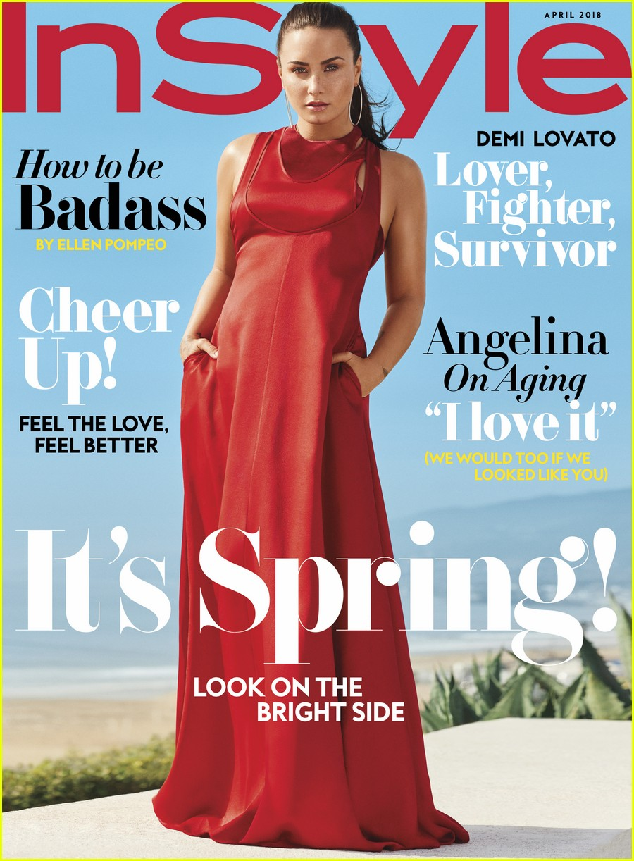 demi lovato instyle april 01