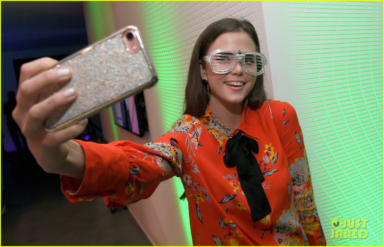 kendall schmidt teala dunn lilimar and more team up for kids choice awards slime soiree 05