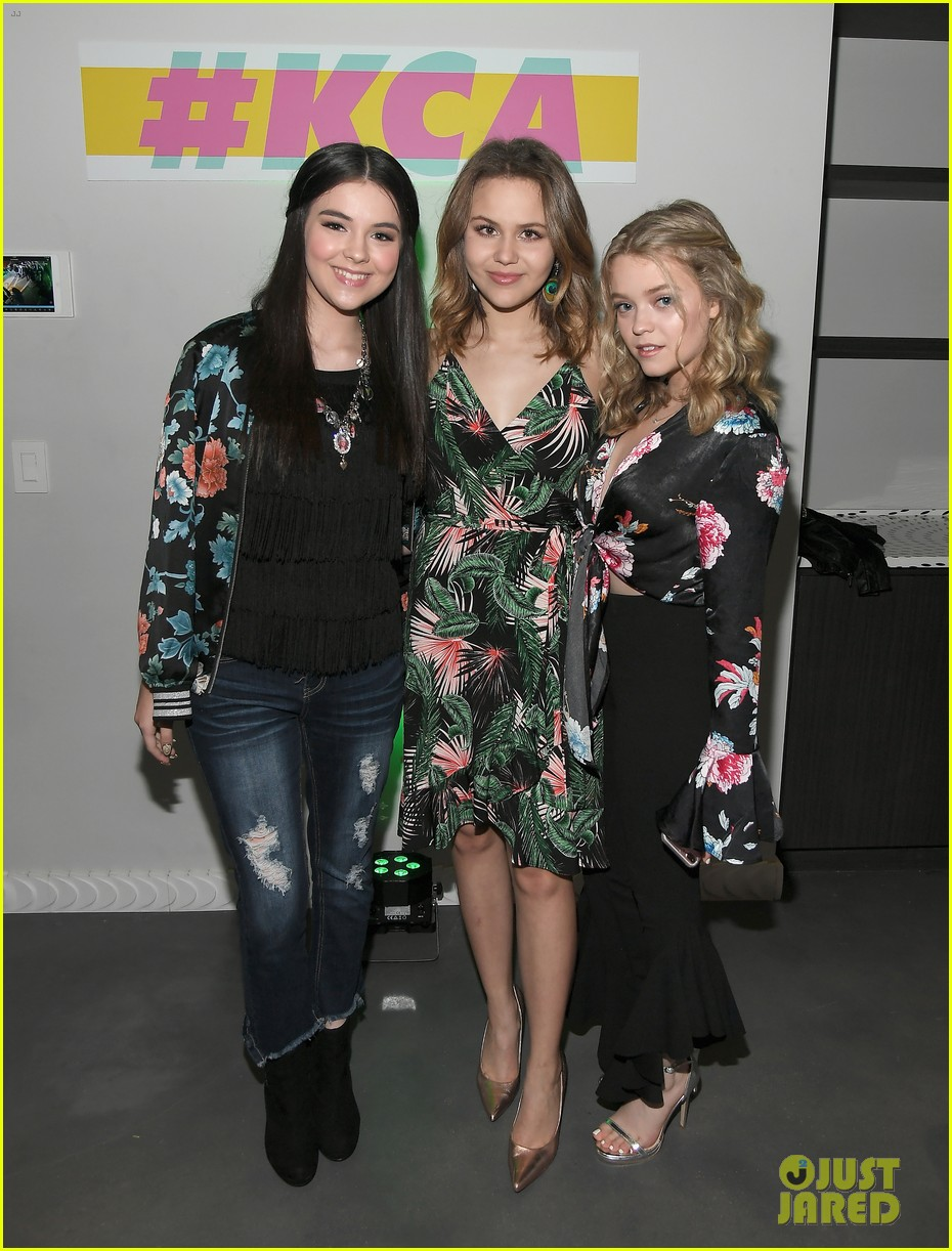 kendall schmidt teala dunn lilimar and more team up for kids choice awards slime soiree 50