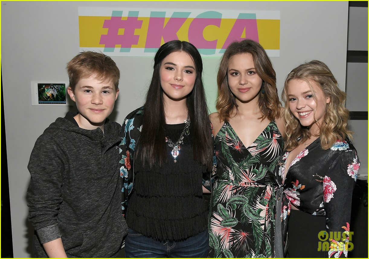 kendall schmidt teala dunn lilimar and more team up for kids choice awards slime soiree 51