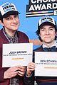 patrick schwarzenegger and kat graham hit the kids choice awards orange carpet 11