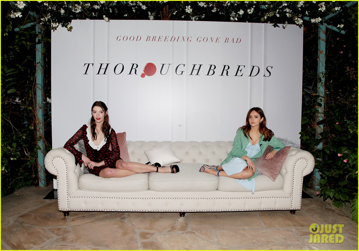 Thoroughbreds Premiere West Hollywood Feb 02 Demi Lovato Selena Gomez Movie