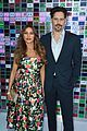 sofia vergara dons strapless floral gown for ready player one premiere with joe manganiello 25