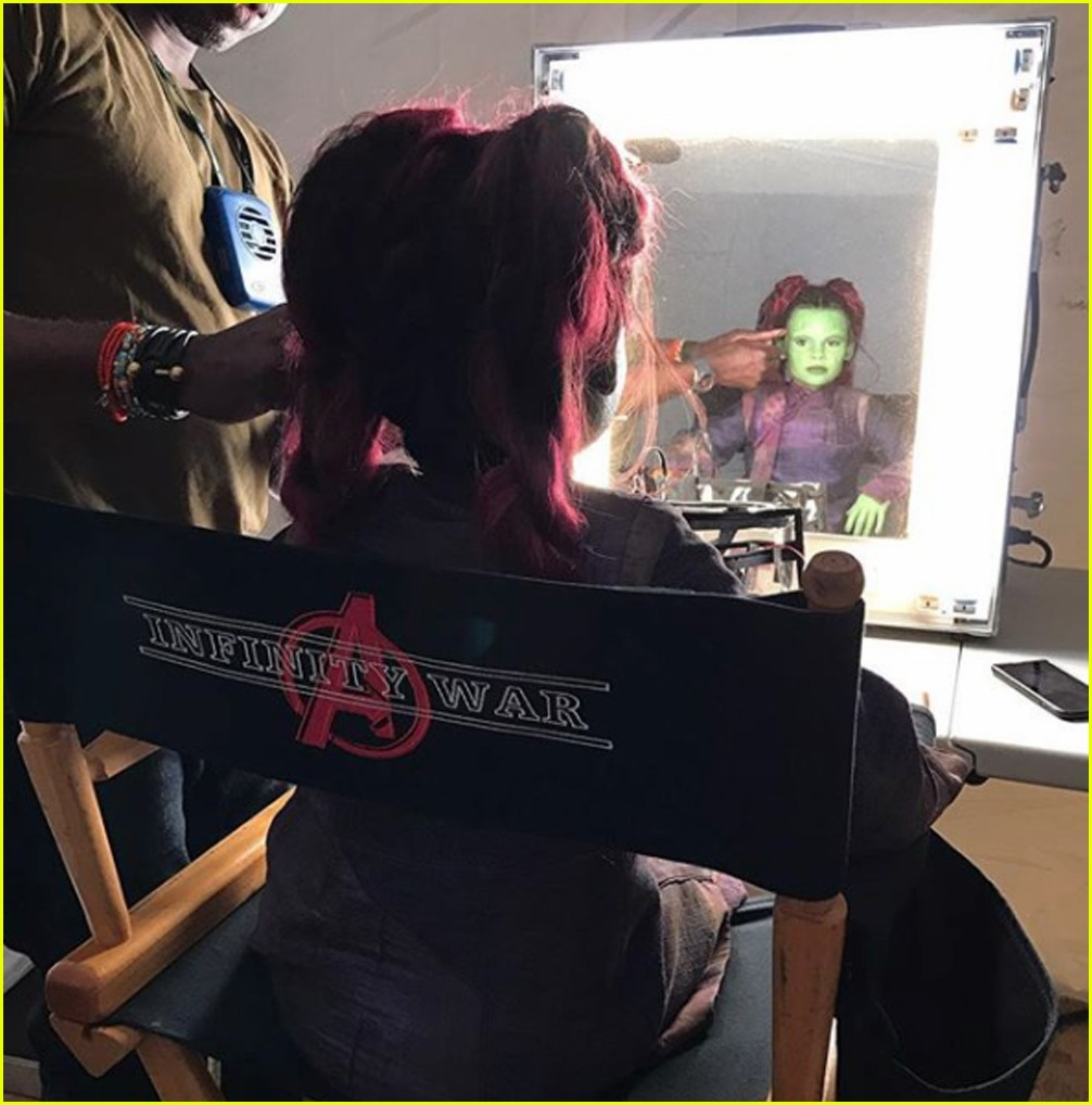 ariana greenblatt appears in avengers 01