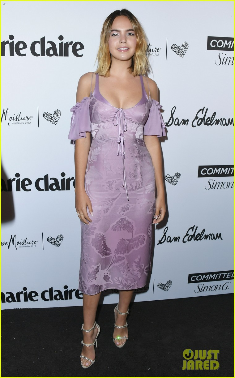 bailee madison shows off new blonde hair at marie claire celebration 07