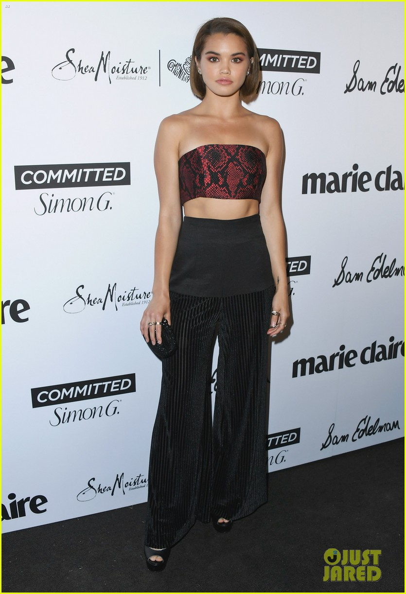 bailee madison shows off new blonde hair at marie claire celebration 09