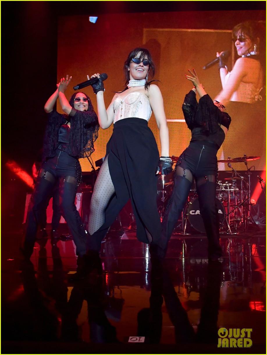 camila cabello and pharrell williams perform sangria wine at her la concert 03