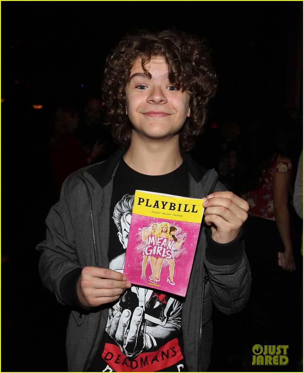 Gaten Matarazzo Joins 'Mean Girls' Cast at Broadway Show