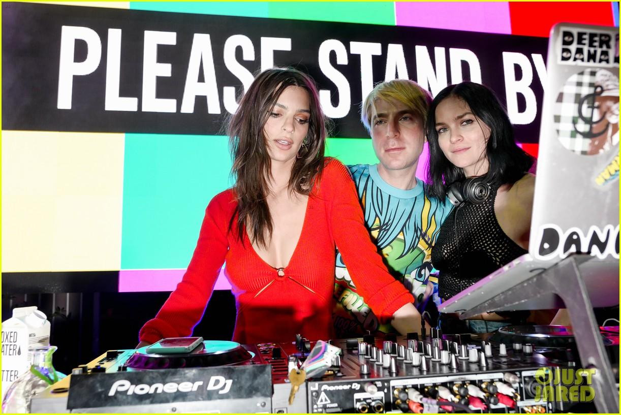 gigi hadid cardi b take over the dj booth at moschino coachella party 23