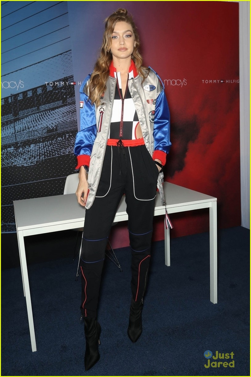 gigi hadid tommy watch event launch 04
