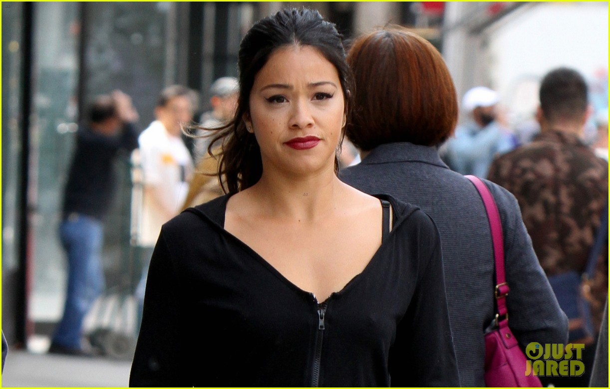 gina rodriguez steps out to film someone great 03