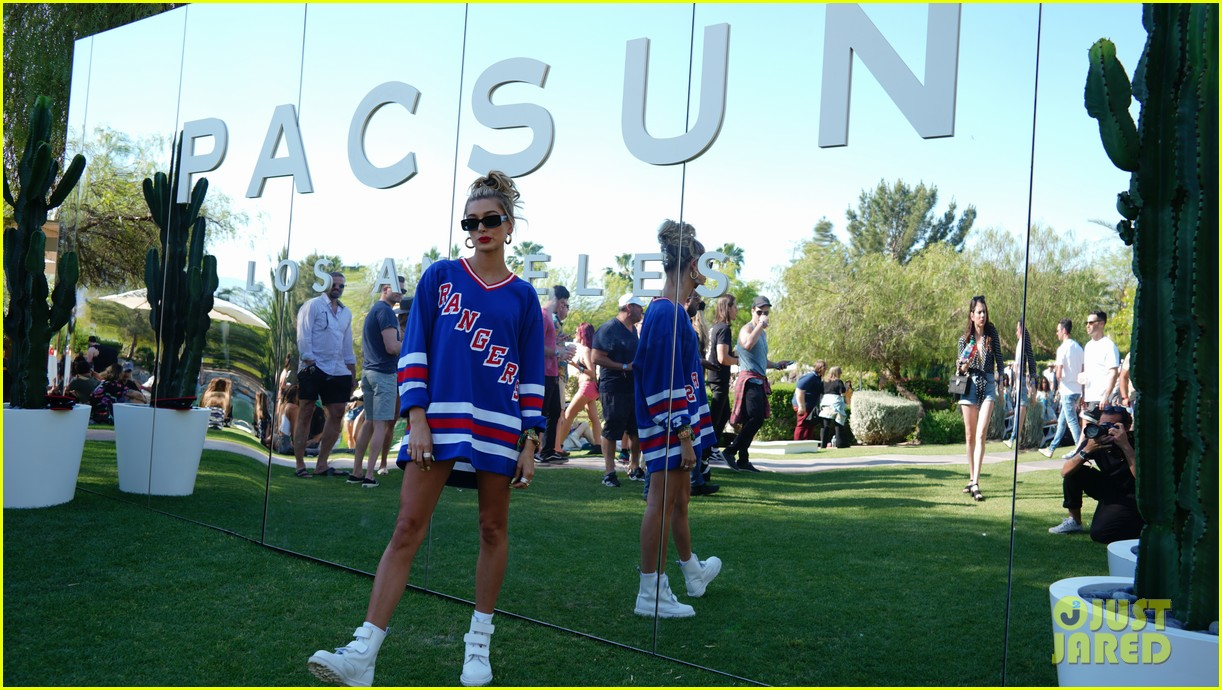 blake griffin hailey baldwin attend bootsy bellows coachella 14