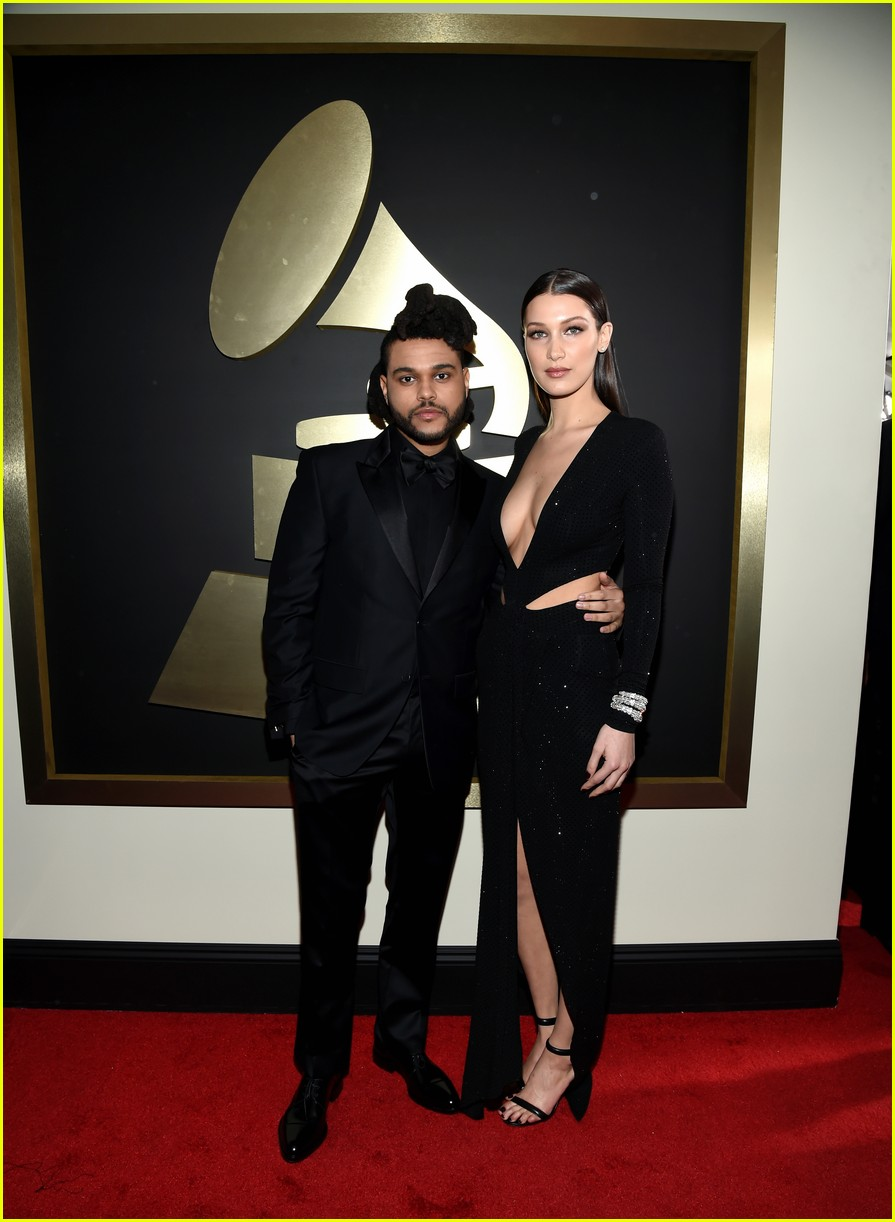 bella hadid denies kissing the weeknd 01
