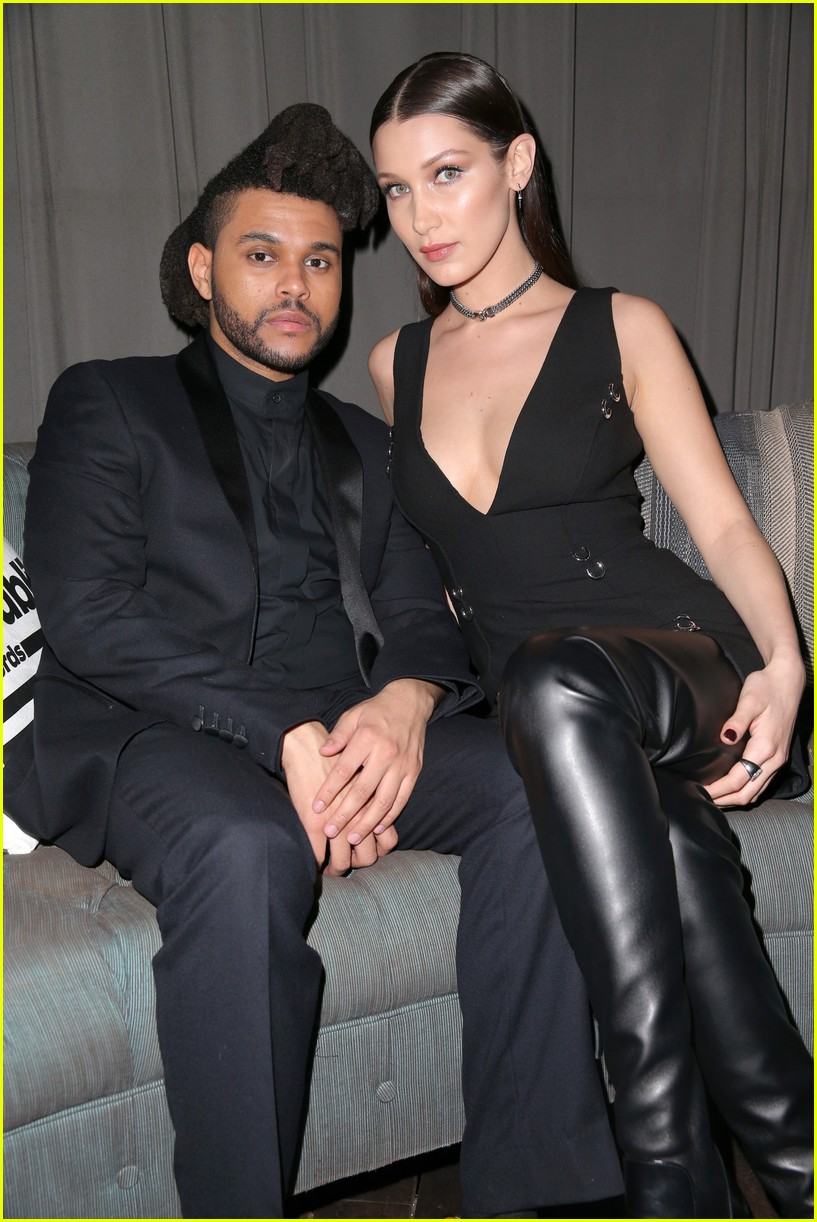 bella hadid denies kissing the weeknd 06