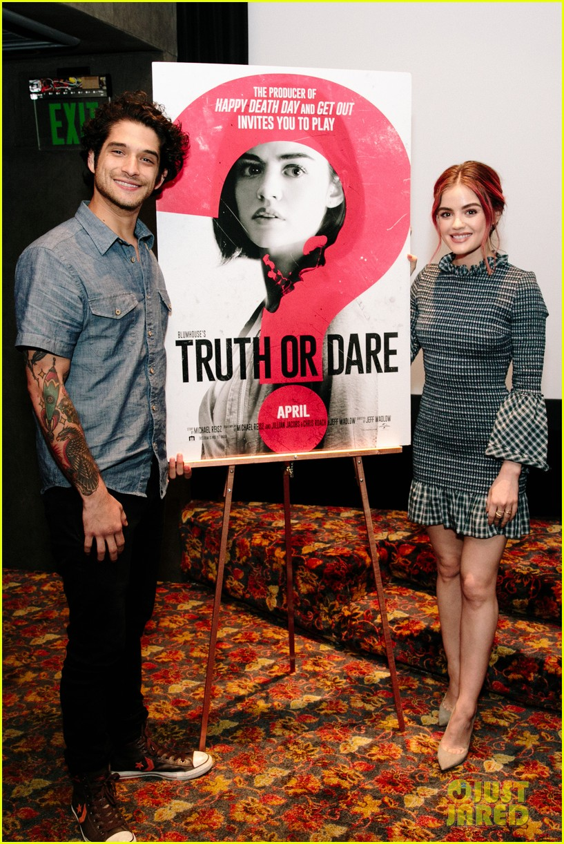 lucy hale tyler posey truth or dare premiere 05