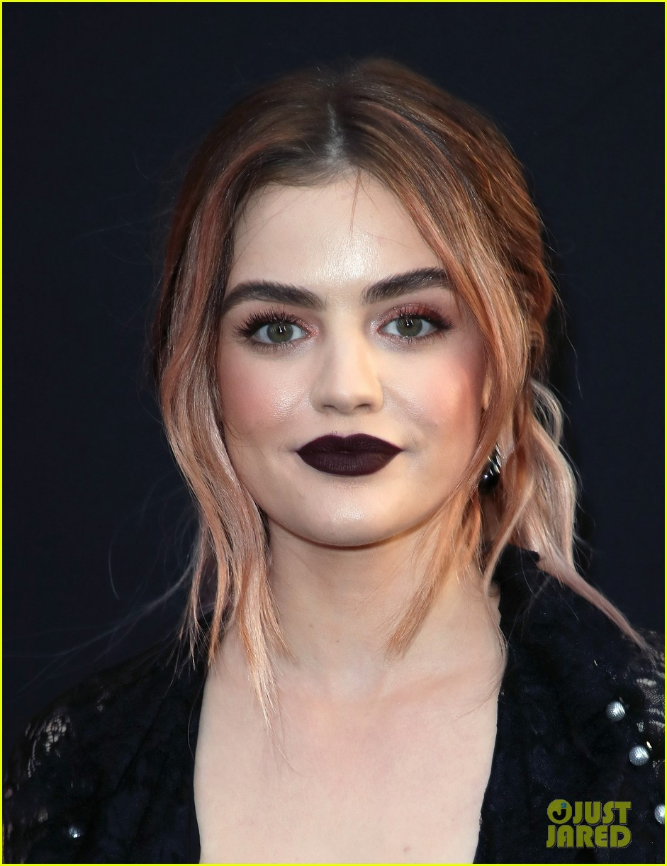 lucy hale tyler posey truth or dare premiere 12