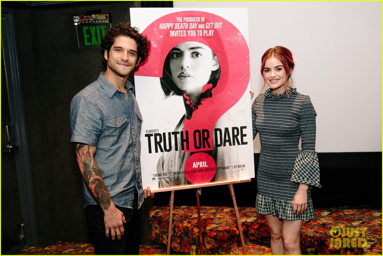 lucy hale tyler posey truth or dare premiere 41