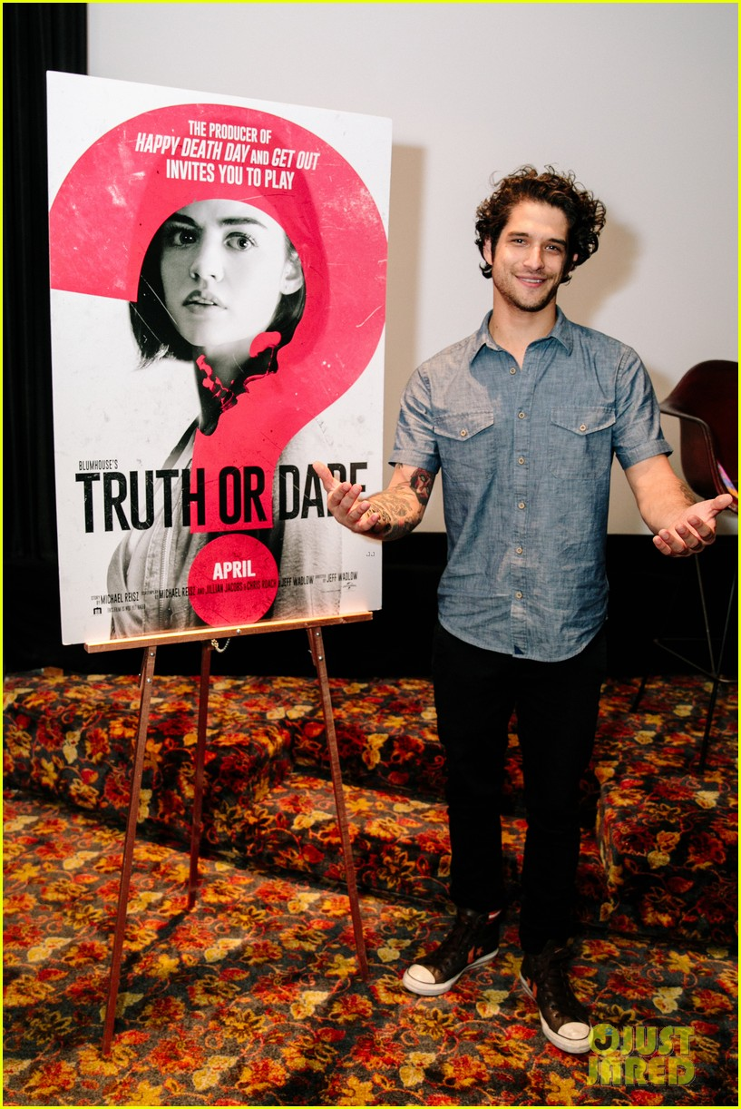 lucy hale tyler posey truth or dare premiere 42