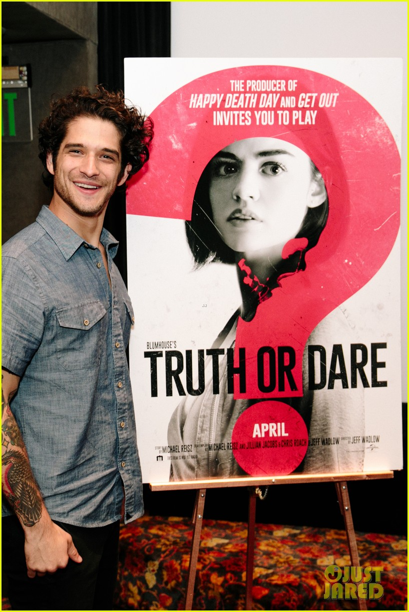 lucy hale tyler posey truth or dare premiere 43
