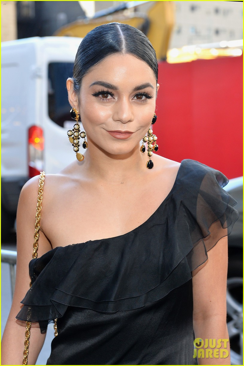 vanessa hudgens looks chic at broadways iceman cometh opening night 02