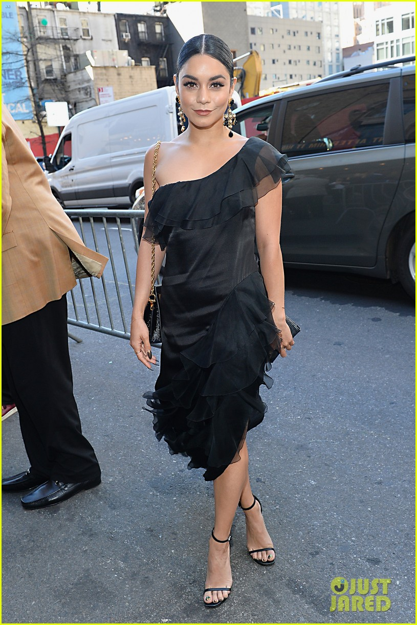 vanessa hudgens looks chic at broadways iceman cometh opening night 07