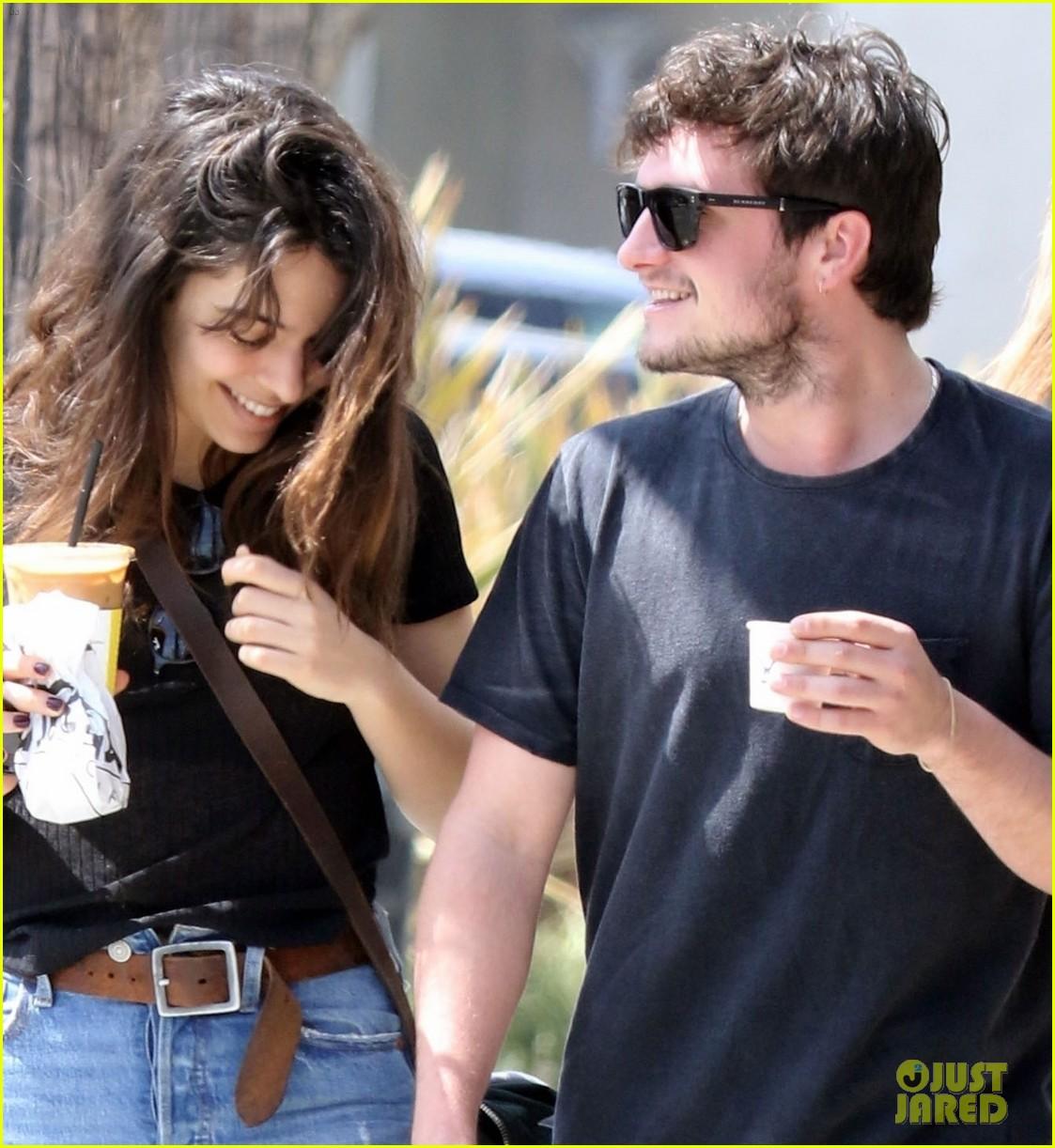 Josh Hutcherson Grabs Coffee with Longtime Love Claudia ...