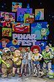 jordan fisher olivia holt pixar land opening event 03
