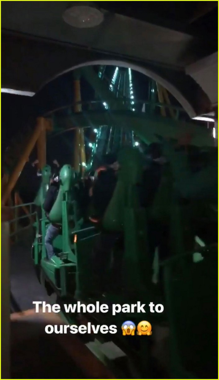 kylie jenner rented out six flags for travis scott birthday 06