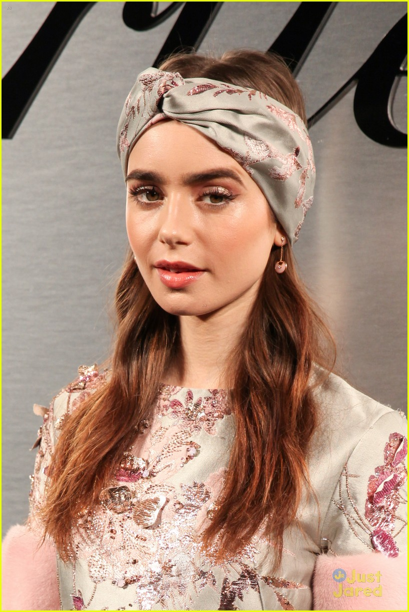Lily Collins Actually Choked On A Tomato During Her Recent Visit To