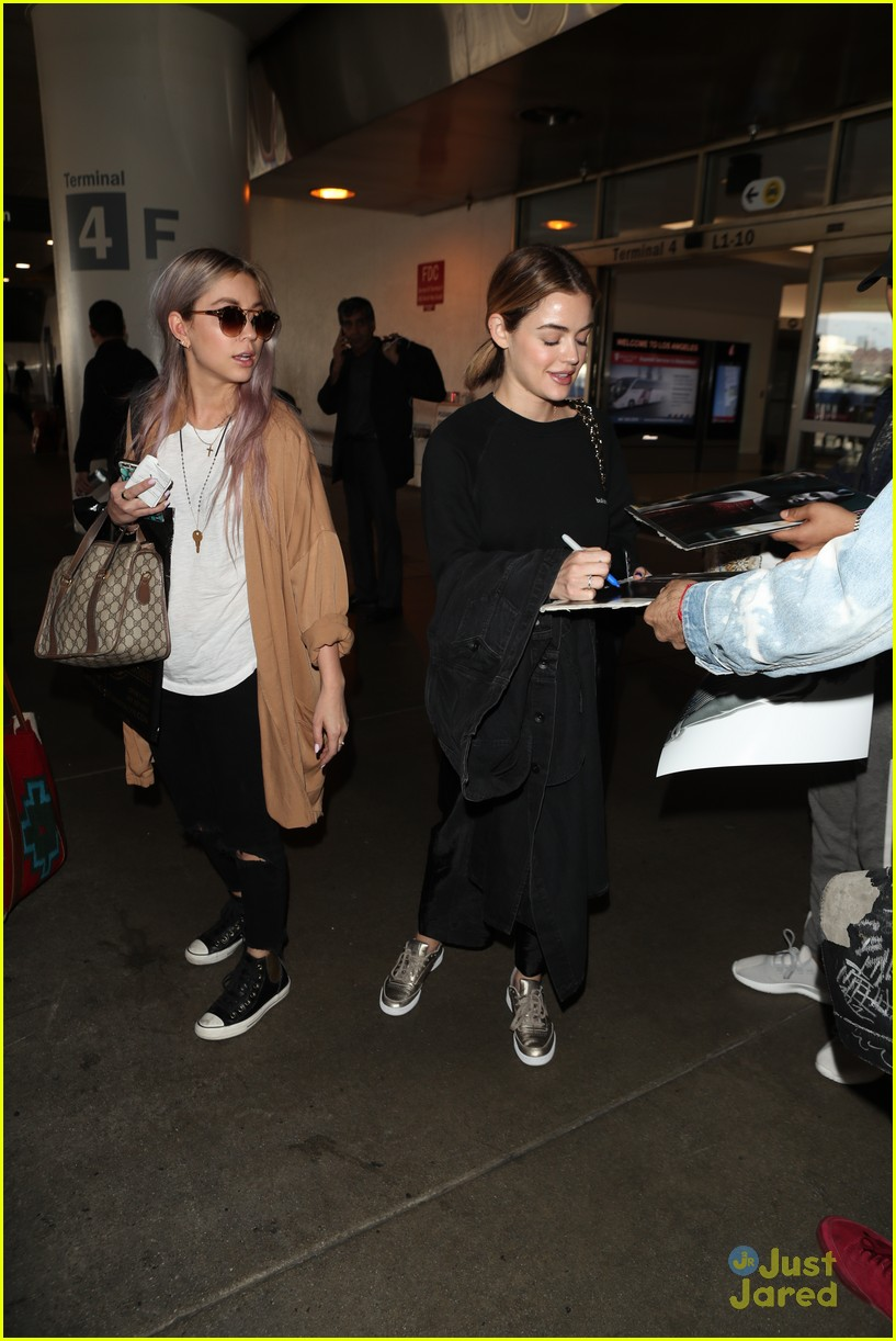lucy hale lax arrival pressure life sentence 02