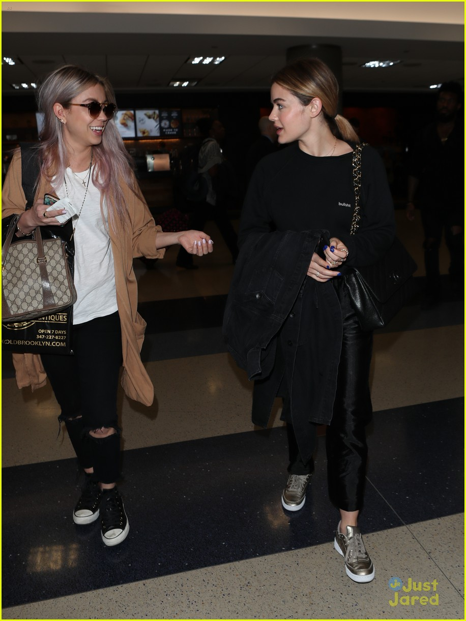 lucy hale lax arrival pressure life sentence 04