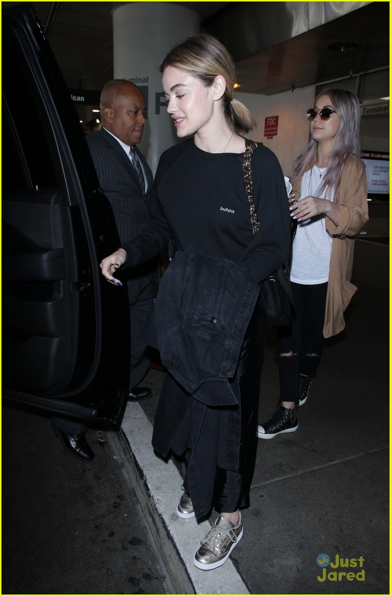 lucy hale lax arrival pressure life sentence 11