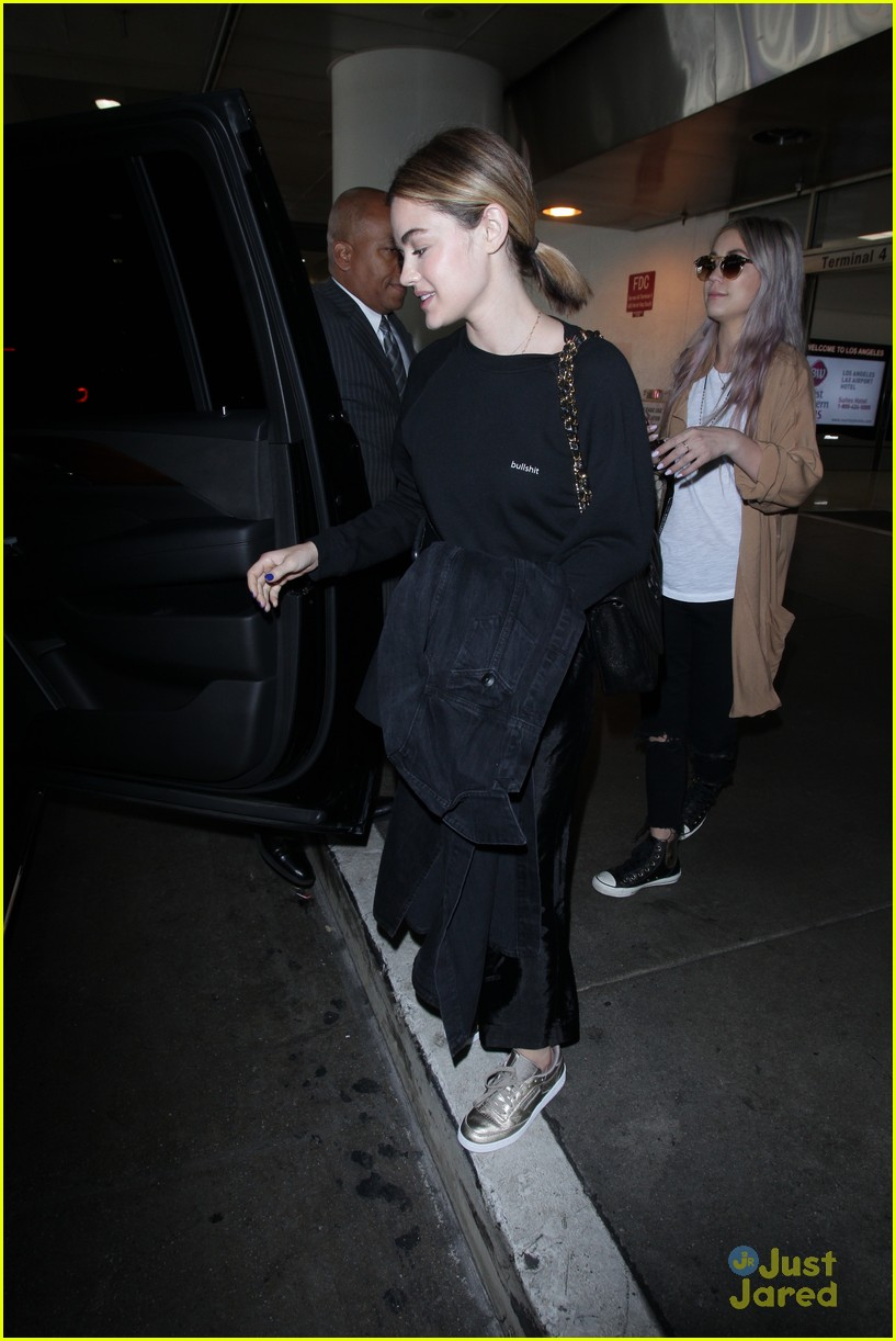 lucy hale lax arrival pressure life sentence 12