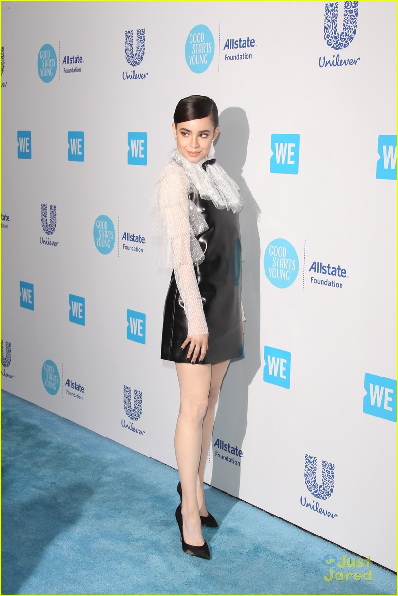 Sofia carson at we day california in los angeles - 2019 year