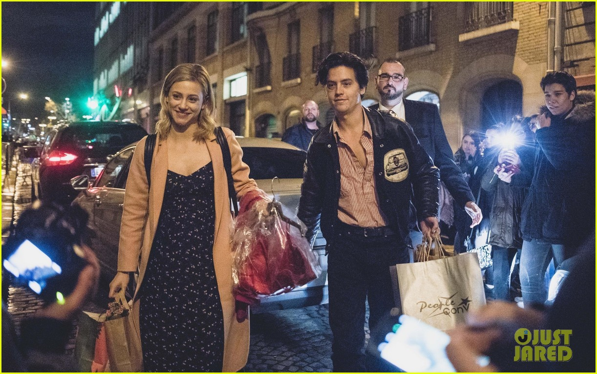 cole sprouse lili reinhart gifts from fans 05