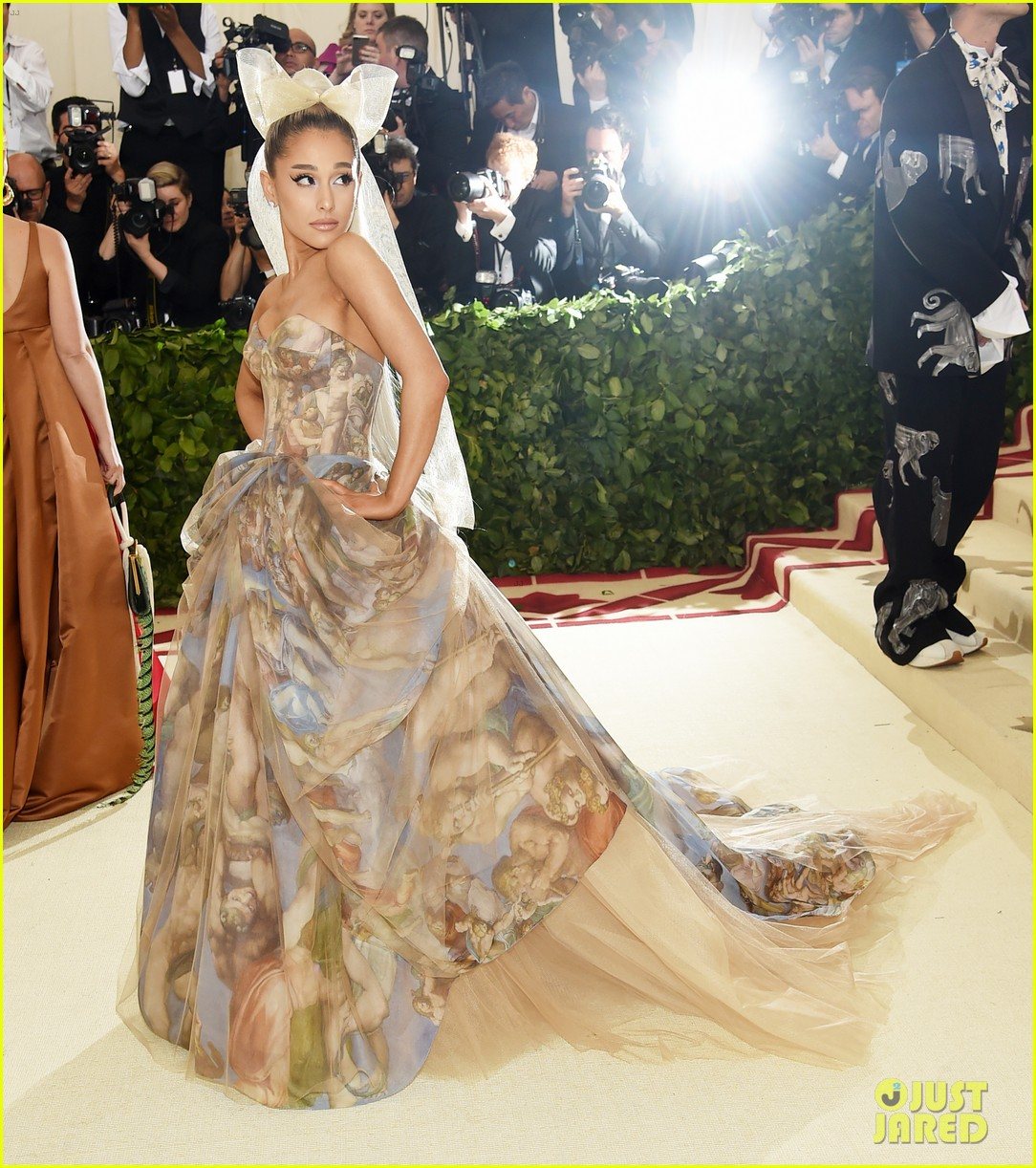 Ariana Grande Is a Work of Art at Met Gala 2018!