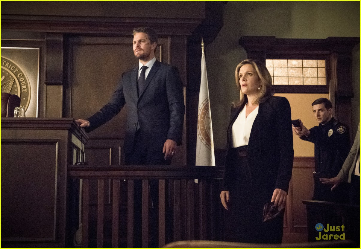 arrow cast talks oliver trial episode 06