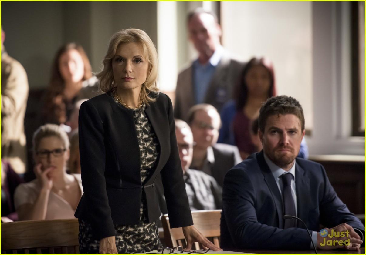 arrow cast talks oliver trial episode 14