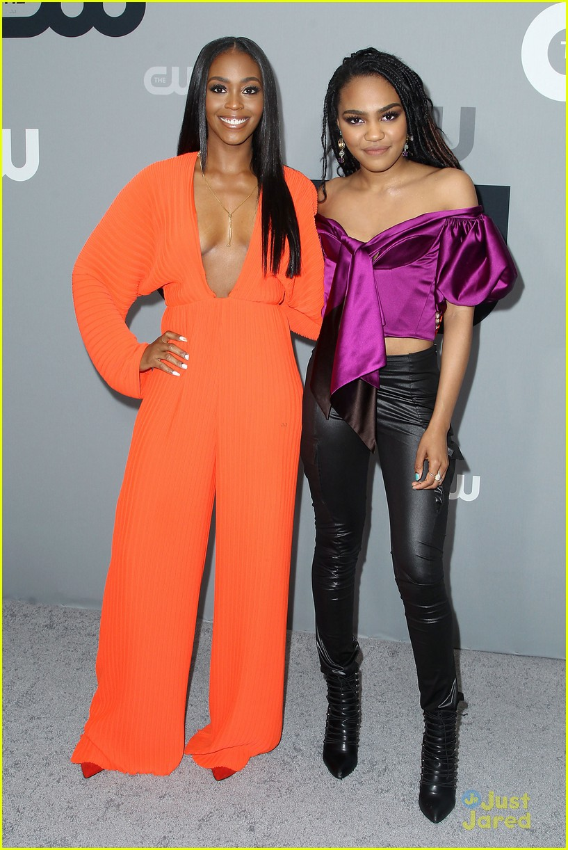 china mcclain nafessa wms liz gillies more cw upfront 02