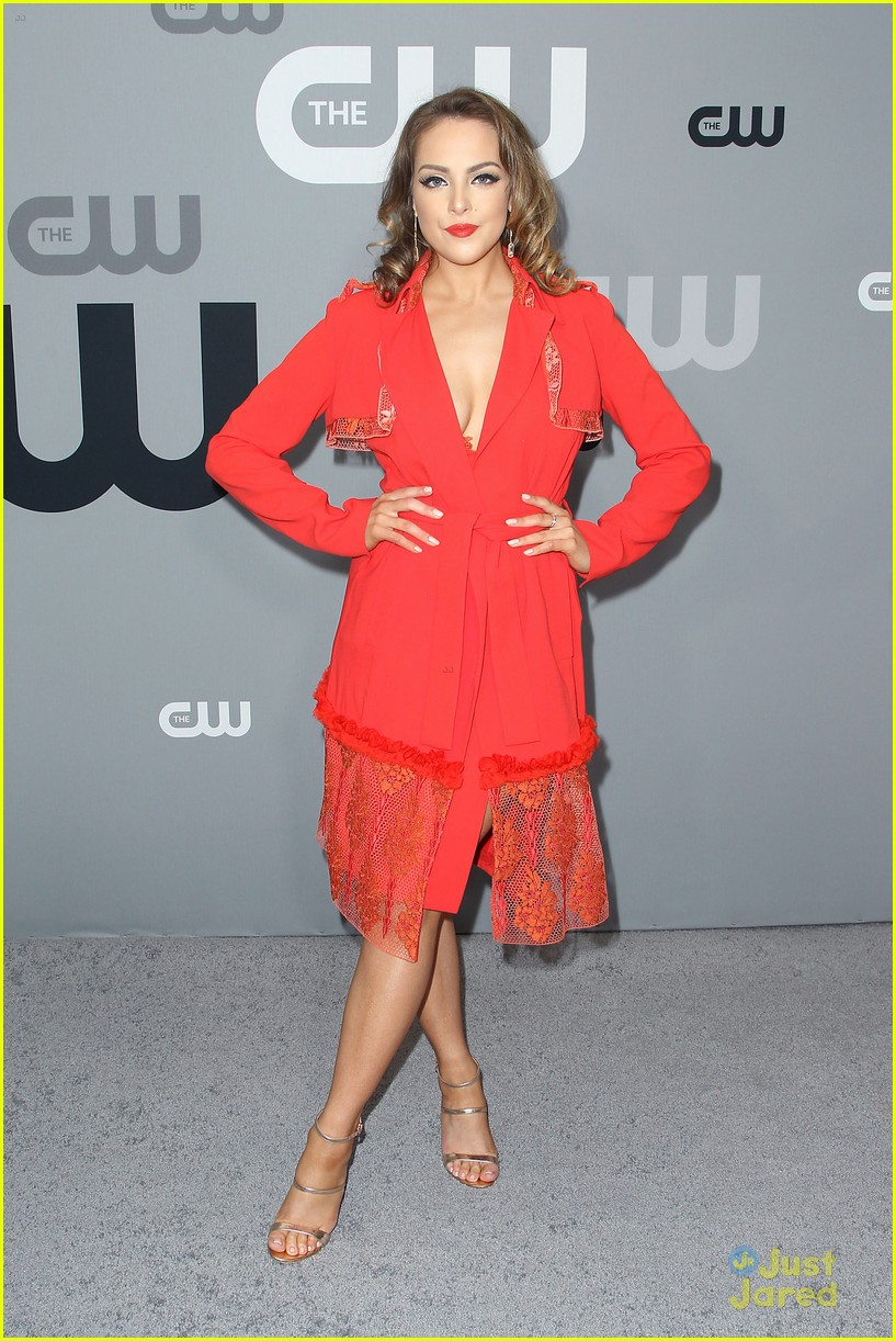 china mcclain nafessa wms liz gillies more cw upfront 04