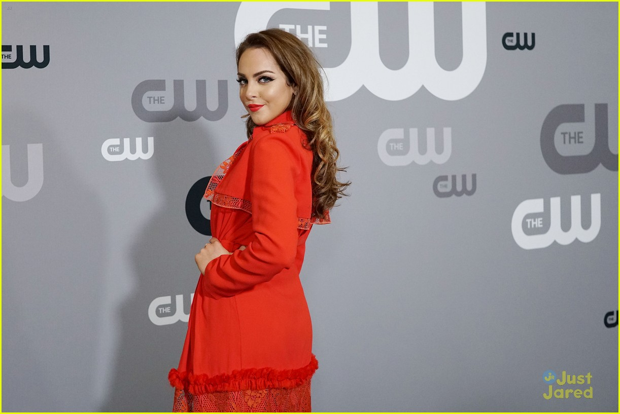 china mcclain nafessa wms liz gillies more cw upfront 13